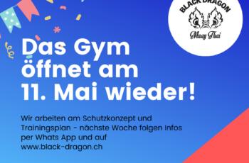 wiedereröffnung black dragon gym - corona krise